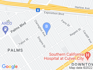 Map of Westside Pet Sitters Dog Boarding options in Los Angeles | Boarding