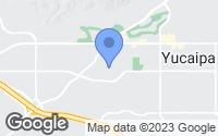 Map of Yucaipa, CA