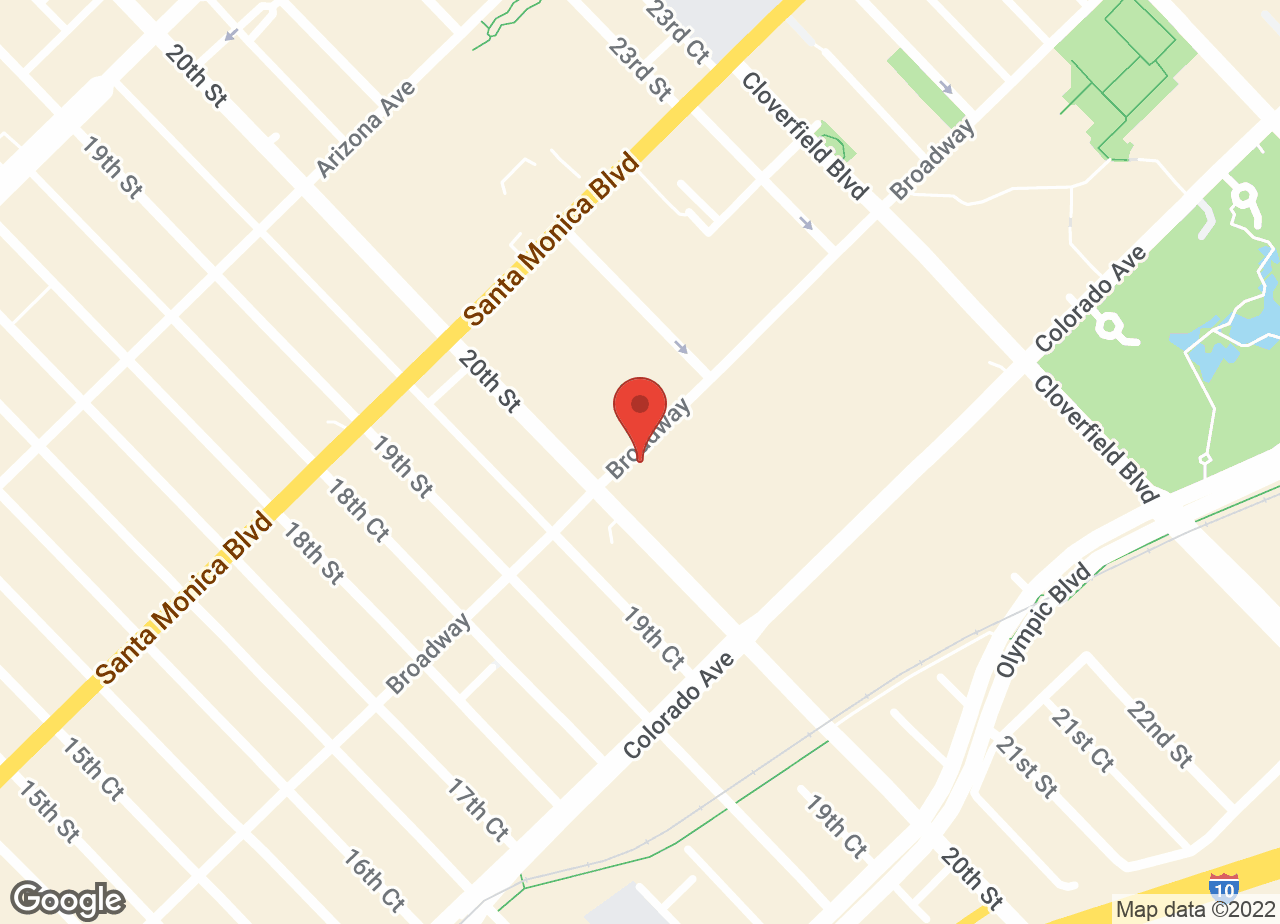 Google Map of VCA Santa Monica Dog and Cat Hospital