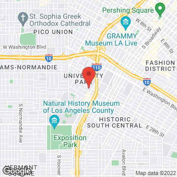 Map of Sprint at 2601 S Figueroa St, Los Angeles, CA 90007