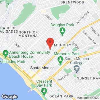 Map of Staples at 1610 Wilshire Boulevard, Santa Monica, CA 90403