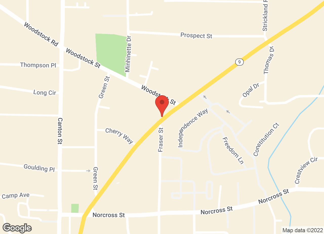 Google Map of VCA Roswell Animal Hospital