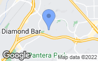 Map of Diamond Bar, CA