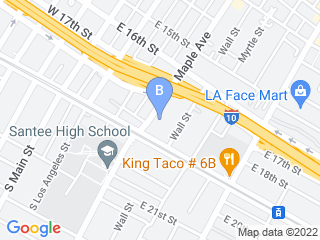 Map of Go Dog LA Dog Boarding options in Los Angeles | Boarding