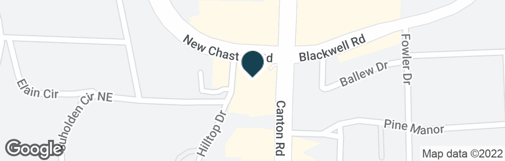 Google Map of3299 CANTON RD