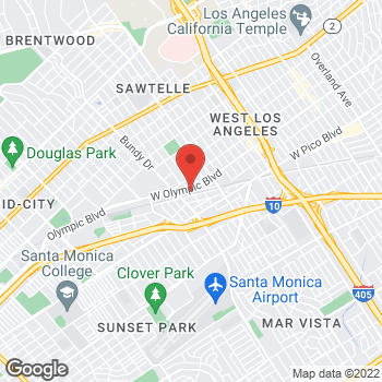 Map of Bed Bath & Beyond at 11854 West Olympic Boulevard, Los Angeles, CA 90064