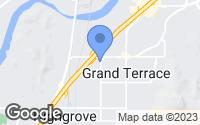 Map of Grand Terrace, CA