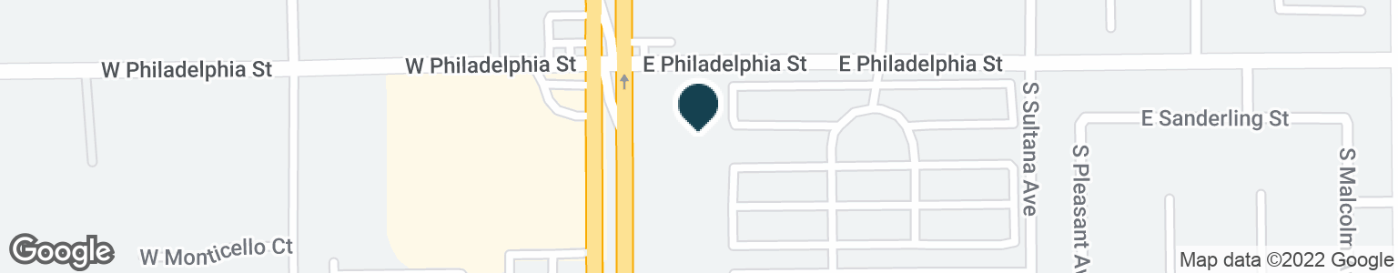 Google Map of2245 S EUCLID AVE