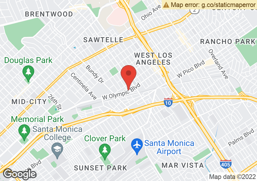 Google Map of 11795 W OLYMPIC BLVD