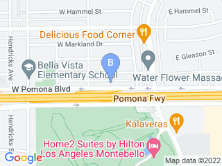 Map of Veterinary Healthcare Center Dog Boarding options in Monterey Park | Boarding
