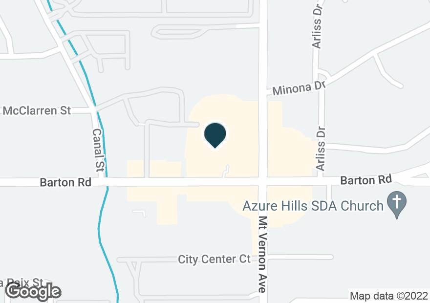 Google Map of22456 BARTON RD