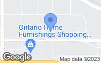Map of Ontario, CA