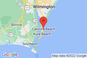 Map of Carolina Beach