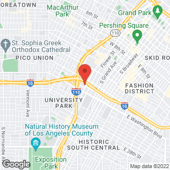 Map of Staples at 1701 South Figueroa, Los Angeles, CA 90015