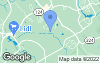Map of Dacula, GA