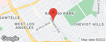 Map of 10680 W Pico Blvd in Los Angeles