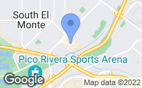 Map of South El Monte, CA