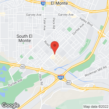 Map of Check `n Go at 1936 N. Durfee Avenue, South El Monte, CA 91733