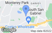 Map of Monterey Park, CA