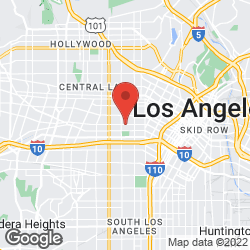 Los Angeles Soccer League on the map
