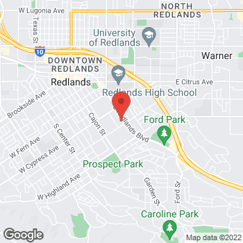 Map of Rite Aid at 700 East Redlands Blvd, Redlands, CA 92373