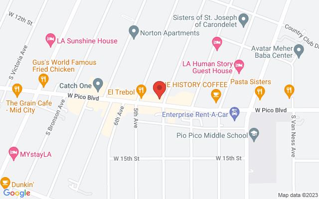 static image of 3705 West Pico Boulevard, Suite 640, Los Angeles, California