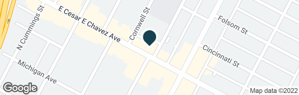 Google Map of305 N BREED ST