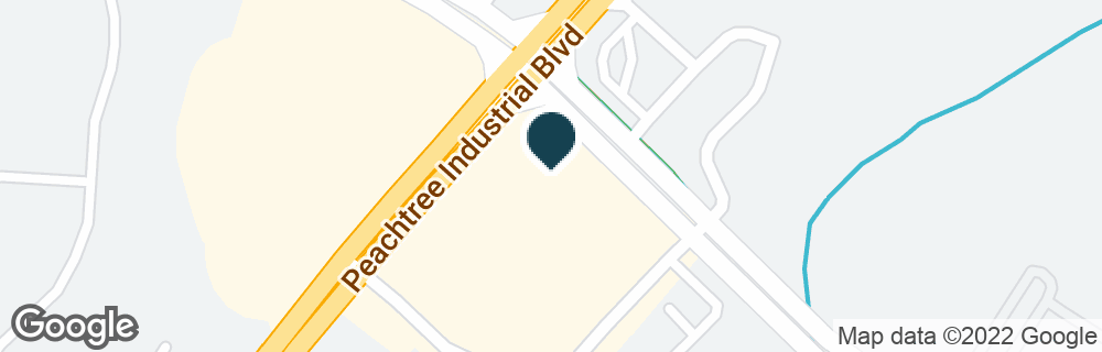 Google Map of1090 PEACHTREE INDUSTRIAL BLVD