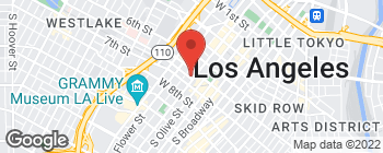 Map of 611 Wilshire Blvd in Los Angeles