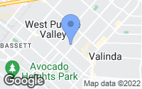 Map of La Puente, CA