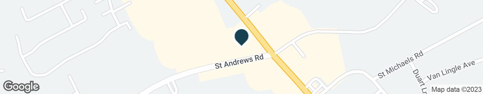 Google Map of1223 SAINT ANDREWS RD