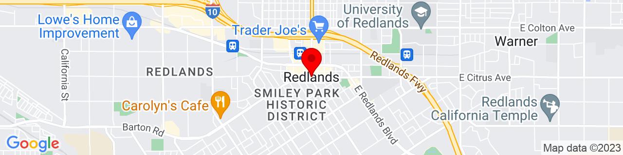 Google Map of 34.05557, -117.18254