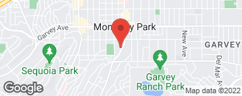 Map of 401 S Garfield Ave in Monterey Park