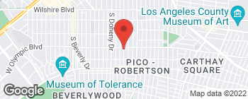 Map of 8950 W Olympic Blvd in Beverly Hills