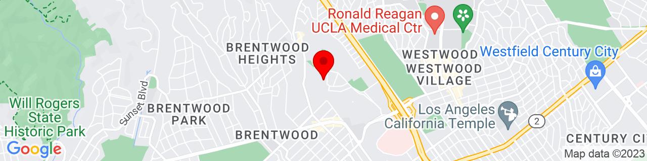 Google Map of 34.0597964, -118.4652446