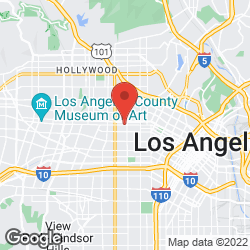 Aids Project La on the map