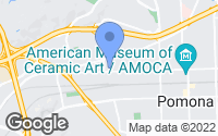 Map of Pomona, CA