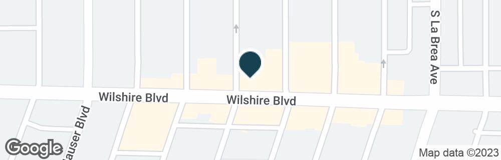 Google Map of5467 WILSHIRE BLVD
