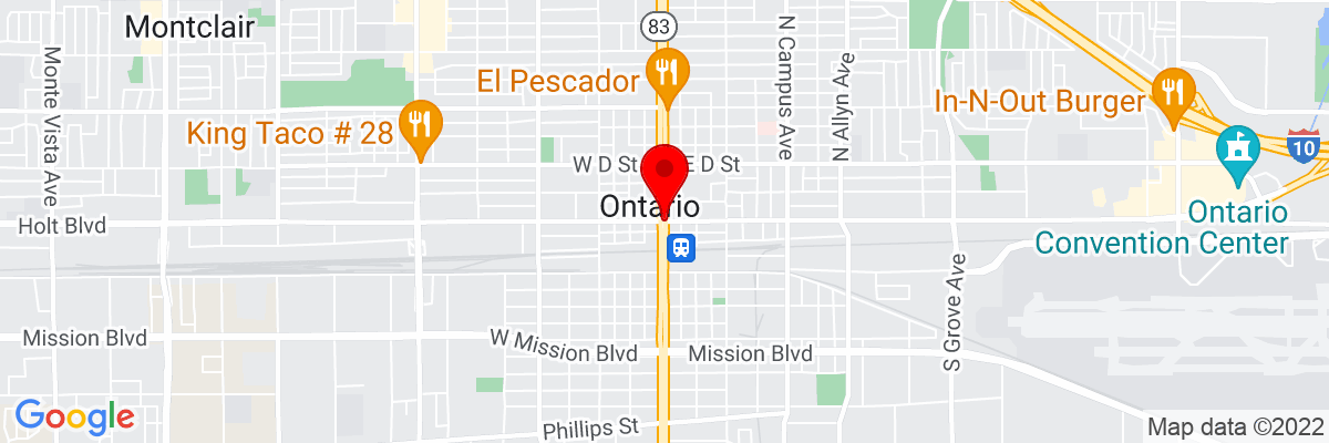 Google Map of 34.063344166667,-117.6508875