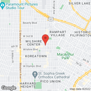 Map of Staples at 3223 West 6th Street, Los Angeles, CA 90020