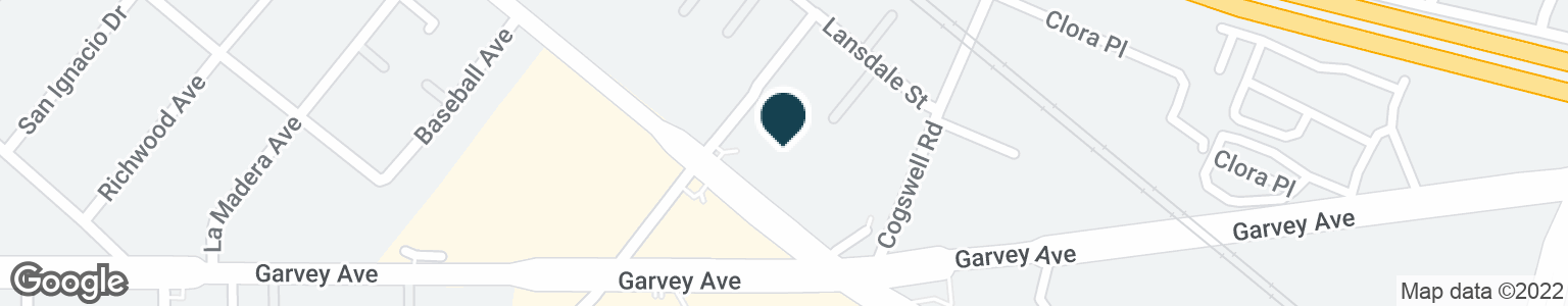 Google Map of11907 VALLEY BLVD