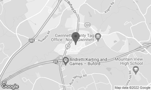 Map of 3333 Buford Drive in Buford