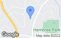Map of Roswell, GA