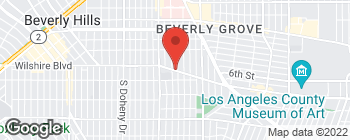 Map of 8683 Wilshire Blvd in Beverly Hills