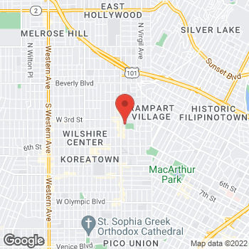 Map of Rite Aid at 334 South Vermont Avenue, Los Angeles, CA 90020