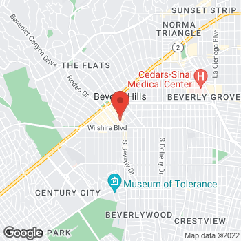 Map of Charlotte Tilbury - سيفورا بيفرلي درايف at 270 N بيفرلي درايف, بيفرلي هيلز, CA 90210