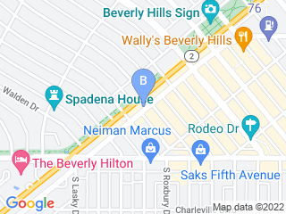 Map of Just For Cats Pet Sitting Dog Boarding options in Beverly Hills | Boarding