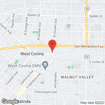 Map of Sprint at 310 S California Ave, West Covina, CA 91790