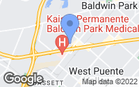 Map of Baldwin Park, CA