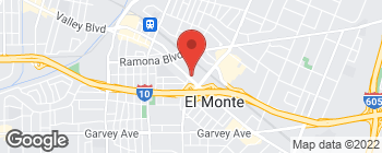 Map of 11401 Valley Blvd in El Monte